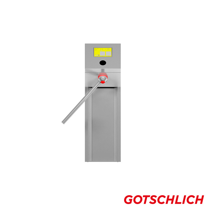 Drehsperre Compact ESD 2-Arm frontansicht