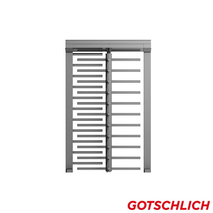 Drehkreuz ECCO 90 HE frontansicht