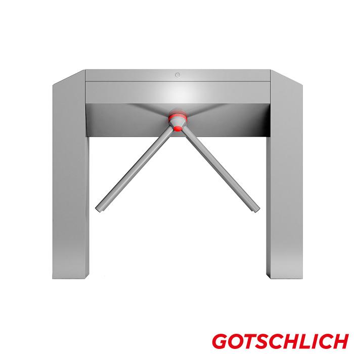 Drehsperre Modul Cross Duo Open gate frontansicht