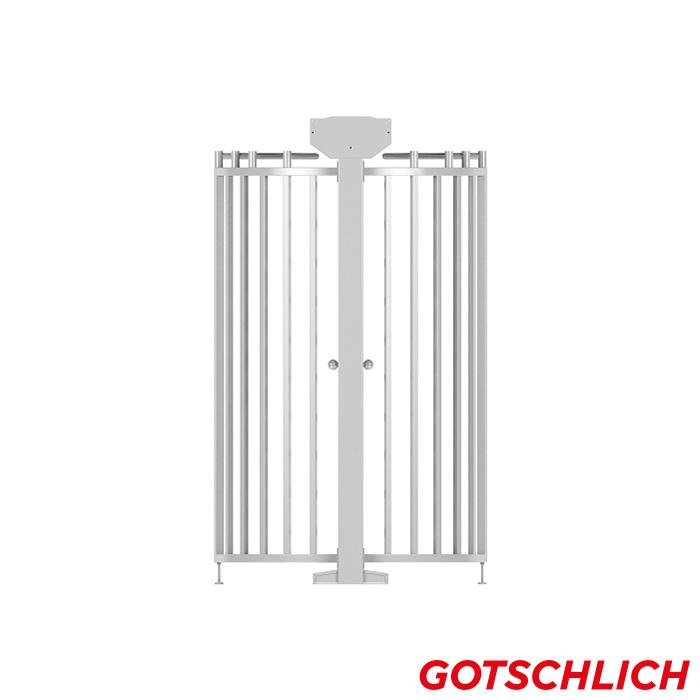 Drehkreuz ECCO Kombiblock right
