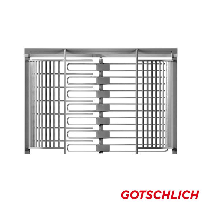 Drehkreuz ECCO 120 BE XXL frontansicht
