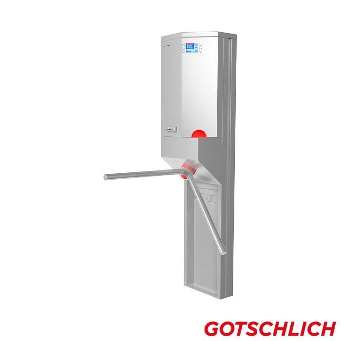 Bezahlautomat Trinity 2-Arm closed perspective