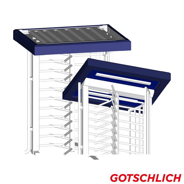 ECCO Einzeldrehkreuz Gehtür Dach Comfort