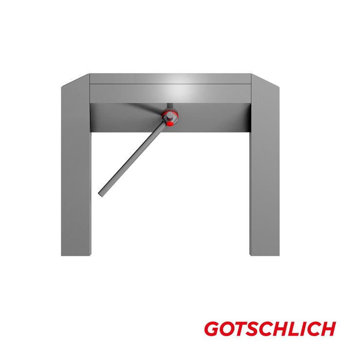 Drehsperre Modul Cross 2-arm frontansicht